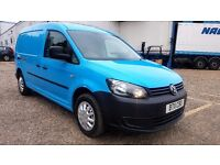 Finance- £115 P/M VW- Volkswagen Caddy Maxi Van LWB C20 102TDi -Air Con- 1 Owner X BGas FSH- 1YR MOT