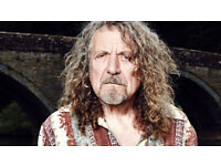 2 Stalls Tickets to Robert Plant at Portsmouth Guildhall 11th December