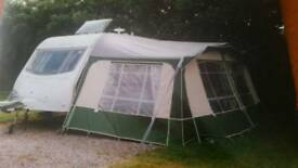 Awning for 2 berth caravan