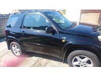 Toyota RAV4 2.0 VVT-I Estate SUV 3dr Black CD/RADIO