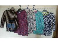 5 girl dresses ( next and mini club) 4-5 years