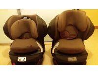 Cybex Juno 2-Fix car seats group 1 9-18kg