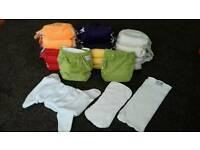 Wonderoos reusable cloth nappies