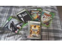 Collection of Xbox games