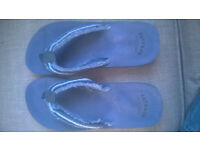 Mens Fat Face Flip Flops Size 11