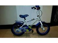 "Boys Apollo Police Bike - 14"""