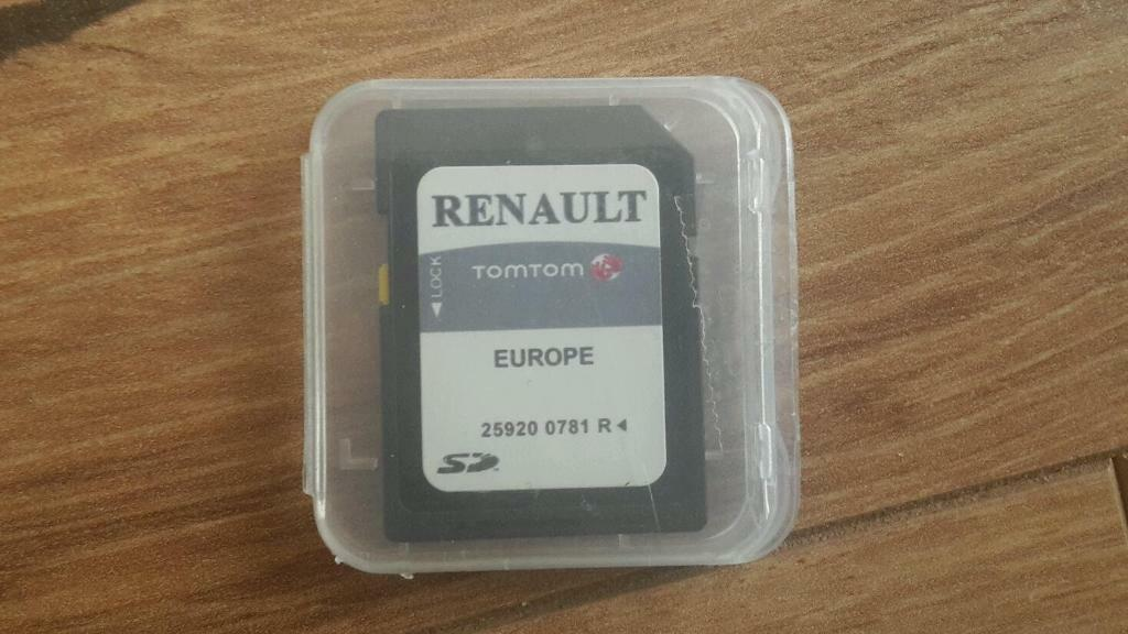 renault tom tom carminat europe sd card in killingworth. Black Bedroom Furniture Sets. Home Design Ideas