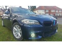 BMW 520D 2012 EFFICIENT DYNAMICSM SPORT REPLICA TOP SPEC £30 TAX NEW CLUTCH MUST VIEW REDUCED £7995