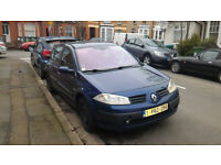 Renault Megane Dynamic 1.9 DCI 120cv year 2003, For sale spares or repair.