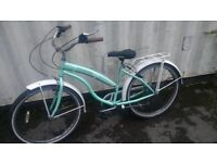 ECOSMO TOWN-BIKE 7 SPEED 26 WHEELS AND TYRES 2.125 AVAILABLE FOR SALE