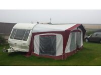 Coachman Mirage Elation 4 Berth Touring Caravan. Many extras included , comes with Large Awning.