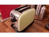 Russell Hobbs 2-slice toaster, cream
