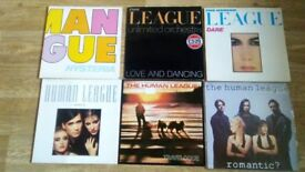 "36 x human league vinyl collection LP's /12""/7"""
