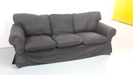 Ikea Ektorp 3-seat sofa in Nordvalla dark grey