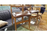Pair Of Vintage Kitchen / Dining Chairs