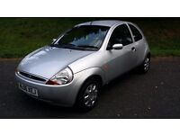 FORD KA, 2006 SILVER IN GOOD CLEAN CONDITION, 60000 MLS, BARGAIN, IDEAL FIRST CAR,