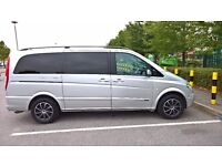 Mercedes benz,Viano,diesel,2007year,semi-automatic,leather 9seater,parking sensot 2017 july, DVD...