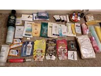 Liz Earl hot Cloth cleanser and body shoo mineral face mask and so many other samples