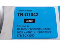 Two, New (TR-D1042) Unused Laser Toner Cartridges, Compatible with Samsung Laser printers,