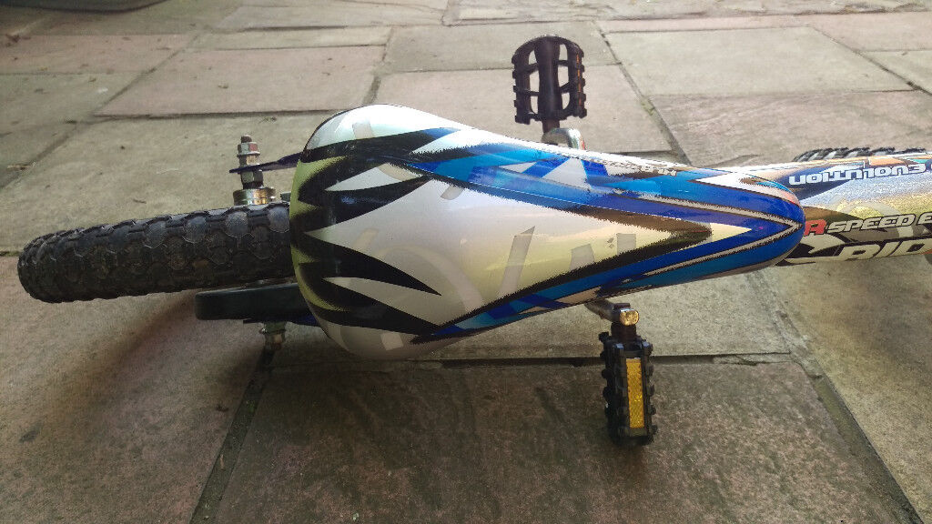 14-inch boy's bike in perfect working condition