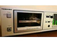Toshiba PC-G2T stereo cassette deck tape player