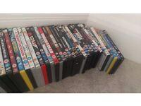 85 assorted DVDs job lot