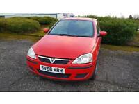 VAUXHALL CORSA 1.0i 12V Classic 3dr Low Miles Fully Serviced + Fully Warranted A Nice Car (red) 2006
