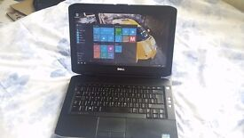 Dell E5430 laptop, 3rd GEN i5 2.6Ghz, 4GB RAM, 320GB HD, 14 HD Screen, Intel HD 4000, WebCam, Win 10