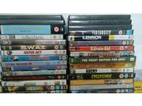 51 DVD titles plus 5 spare cases + CD Talk Greek