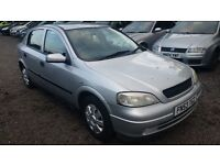 Vauxhall Astra 1.4 i 16v LS 5dr, 10 MONTHS MOT, GOOD CONDITION, P/X TO CLEAR