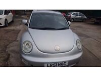 vw beetle 1.6 petrol automatic , £495 cheapest around , 6mth test!!!!!