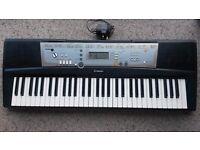 yamaha PSR203 keyboard with power supply. Bargain.