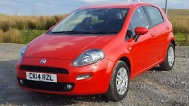 Fiat Punto 1.2 5dr Easy with Just 16,000 Miles with Service History, Bluetooth, Long Fiat Warranty
