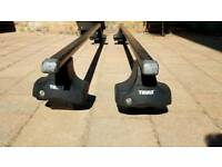 Thule Rapid System 754 Roof Bars Audi A3 and VW Polo