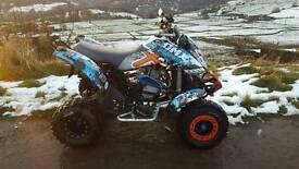 Bombardier ds650x quad bike swap ltr ltz