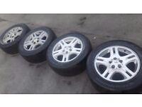 """18"""" alloys w/ tyres LAND ROVER DISCOVERY II range rover II vw transporter t5 touareg vr5 tdi amarok"""
