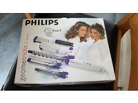 PHILIPS geometricks HP4496/FL 6 in 1 hair styler
