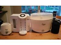 Tommee Tippee Perfect Prep Machine plus Steriliser and Bottle Warmer