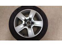 original Audi alloy wheel