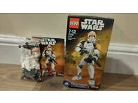 Star wars clone commander cody figure