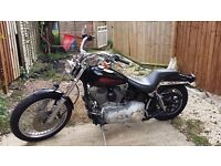 2004 Harley Softail fuel injected, MOT 7/17, 36k miles. PX for low miles mid size sport tourer