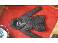 H&M Black maternity coat
