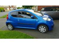 Late 2009 Peugeot 107...full years MOT......69.000 miles.....only £20 a year road tax.