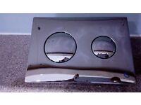 Ideal Standard pneumatic push button plate