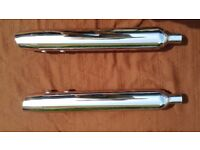 2014 Harley Davidson Road King exhausts