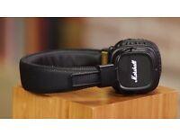Bluetooth Marshall Headphones Major II Black