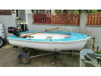 Small fishing boat with good engine
