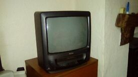 Matsui portable television and built in video player