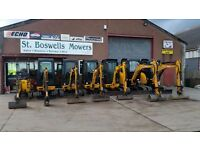 Mini Digger Hire St Boswells Mowers