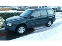 Subaru forester . 55 reg . full service history . full mot . excellent condition .
